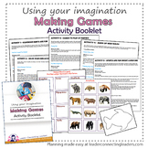 Brownie Girl Scout Making Games Activity Booklet