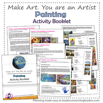 Brownie Painting Activity Booklet