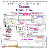 Brownie Girl Scout Senses Activity Booklet