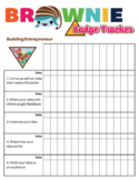 Brownie Girl Scout Troop Badge Requirement Tracker [.doc]
