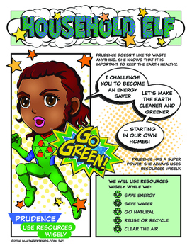 "Girl Scout Household Elf Badge & ""Use Resources Wisely"" Gr"