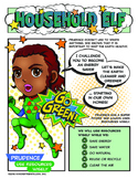 """Girl Scout Household Elf Badge & """"Use Resources Wisely"""" Green Petal Download"""