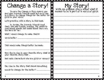 Brownie Journey: It's Your Story - Tell It!