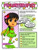 "Girl Scout Philanthropist Badge & ""Considerate & Caring"" P"