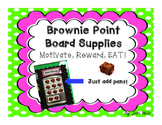 Brownie Point Board for Classroom Management