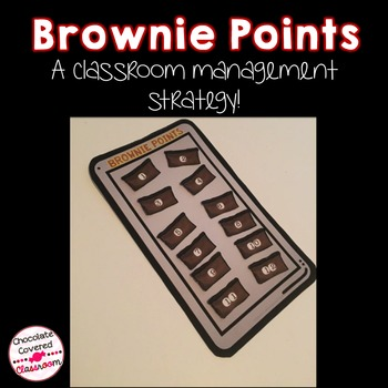 Brownie Points – A Classroom Management Strategy