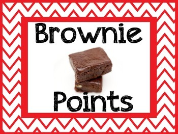 Brownie Points Sign
