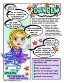 "Girl Scout Dance Badge & ""Be a Sister"" Violet Petal Download"