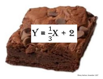 Brownie Walk: Find Equation from Graph and Table