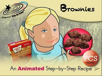 Brownies - Animated Step-by-Step Recipe PCS