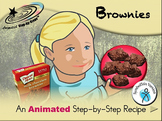 Brownies - Animated Step-by-Step Recipe SymbolStix