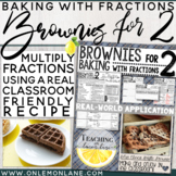 Brownies for 2 Real World Examples of Multiplying Fractions