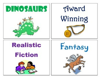 Browsing Box Genre Labels for Classroom Libraries