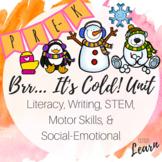 Brr... It's Cold! Unit - Literacy, Math, Social Emotional,
