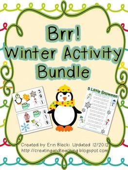 Brr! Winter Activity Bundle