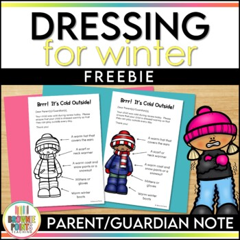 Dressing for Winter - Parent Note