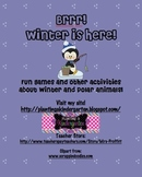 Brrr! Winter Games and Polar Animal Activities