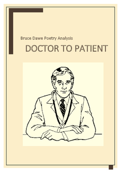 Bruce Dawe Poetry Questions Doctor to Patient
