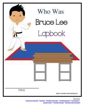 Bruce Lee Lapbook