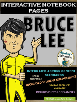 Bruce Lee's Interactive Notebook Pages