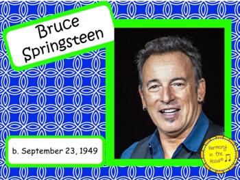 Bruce Springsteen: Musician in the Spotlight