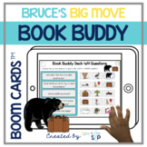Bruce's Big Move Book Companion | Boom Cards™️ Deck | Teletherapy