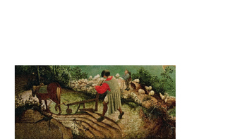 """Bruegel's """"Landscape with the Fall of Icarus"""" & Auden's """"Musee de Beaux Arts"""""""