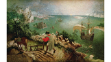 """Bruegel's """"Landscape with the Fall of Icarus"""" & Auden's """"M"""
