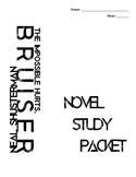 Bruiser Novel Study Packet