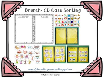 Brunch Activities using Old CD Cases
