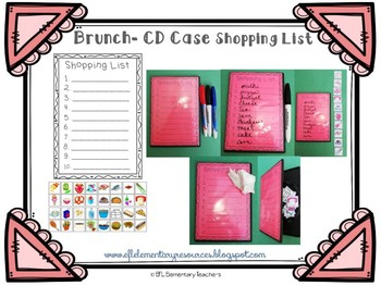 Brunch Activities using Old CD Cases