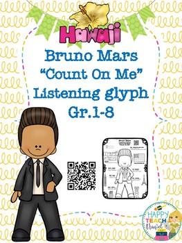 "Bruno Mars ""Count On Me"" listening glyph"