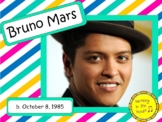 Bruno Mars: Musician in the Spotlight