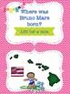 Bruno Mars bulletin board