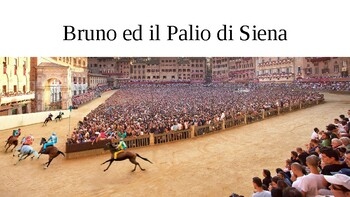 Bruno ed il Palio di Siena