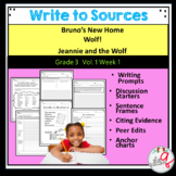 Bruno's New Home, Wolf!, Jeannie and the Wolf-Write to Sou