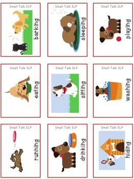 Bruno's Dandy Doggie Days: Receptive/Expressive Language Pack