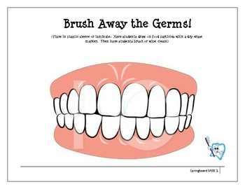 Brush Away Germs!