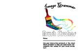 Image Grammar:  Brush Stroke Review Booklet