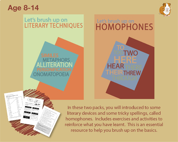 Brush Up On Literary Techniques and Homophones