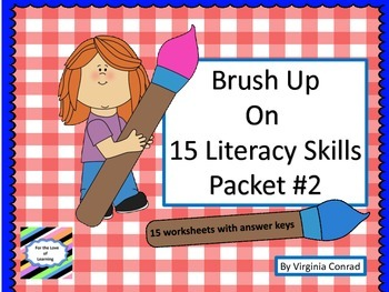Brush Up on 15 Literacy Skills Packet #2