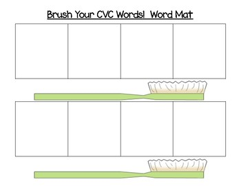 Brush Your CVC Words