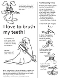 Brush Your Teeth Coloring Page & Step-by-step Directions