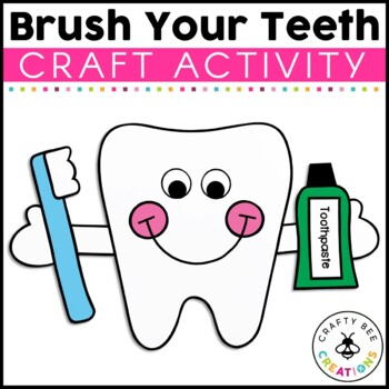 Brush Your Teeth Cut and Paste