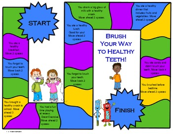 Brush Your Way to a Healthy Smile Game