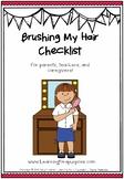 Brushing Hair Checklist