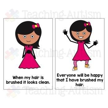 Social Story - Brushing Hair