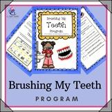 Brushing My Teeth Program - visual, sequence, program, sensory, hygiene, autism