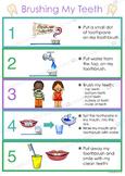 Brushing My Teeth Routine Chart