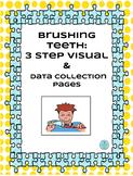Brushing Teeth :3 Step Visual&Data Sheets-Autism/Special Education #spedislucky